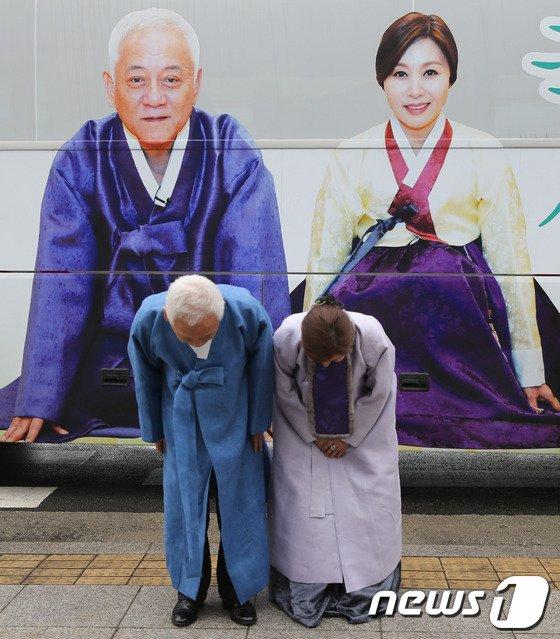 [사진]김한길-최명길 '새해 인사 드립니다'