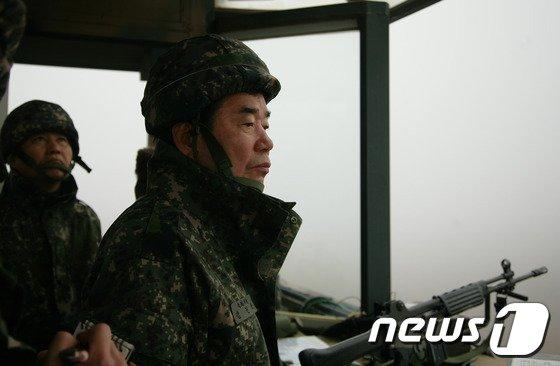 [사진]김진표, 설 연휴 GOP 방문
