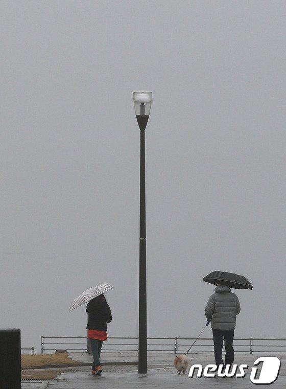 [사진]안개 낀 한강시민공원