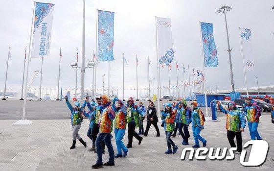 [사진][올림픽]'웰컴 코리아!'