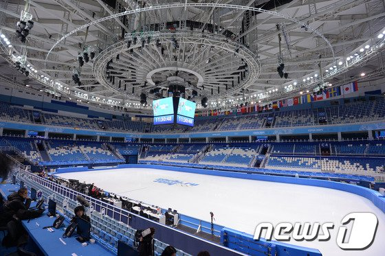 [사진][올림픽]김연아와 이상화가 뛸 아이스버그 스케이팅 팔라스 경기장
