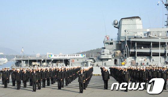 [사진]대한민국 '코브라골드 훈련전대' 출항