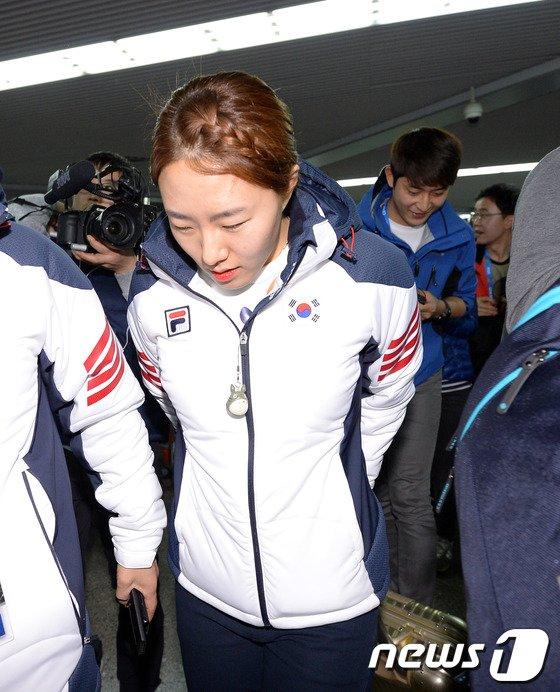 [사진][올림픽]이상화 '금빛질주 기대하세요!'