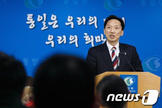 """[사진]이덕행 """"북, 금강산관광 얘긴 없어"""""""