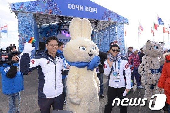 [사진][올림픽]한국대표팀 '선전 다짐'