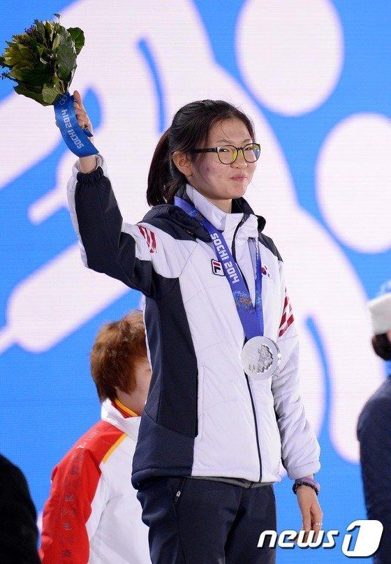 [사진][소치2014]심석희 '금메달, 다음엔 꼭!'