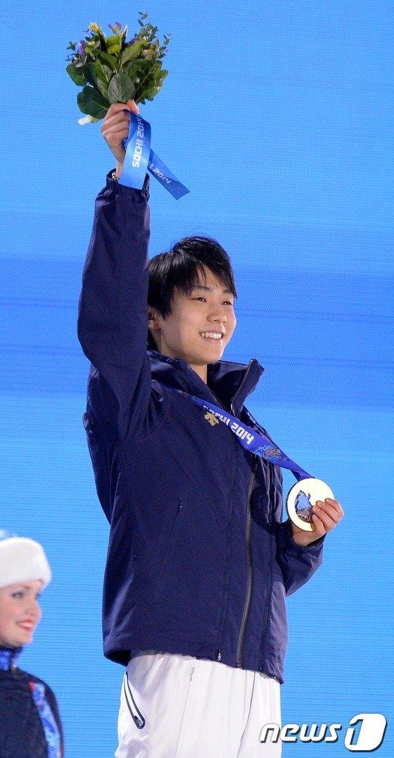 [사진][소치2014]日 남자 피겨 역사상 첫 금메달의 주인공 하뉴