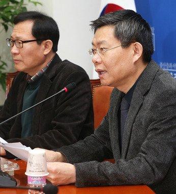 민주당 최재천 전략홍보본부장 2014.2.9/뉴스1 © News1   오대일 기자