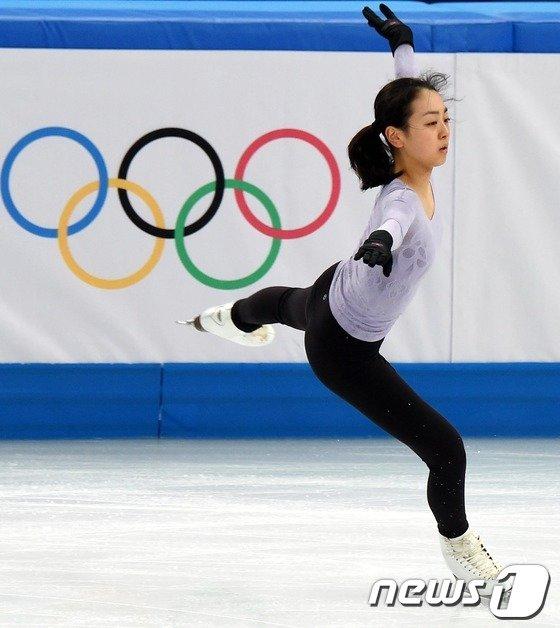 [사진][소치2014]아사다 마오 '실전같은 연습'
