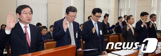 [사진]개인정보유출 재발방지 입법청문회