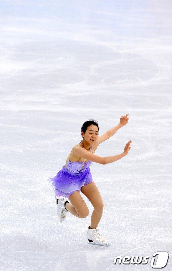 [사진][소치2014]일본 아사다 마오 '미소 가득히'