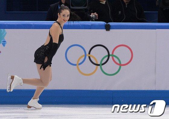 [사진][소치2014]오스먼드 '빙판의 미녀'