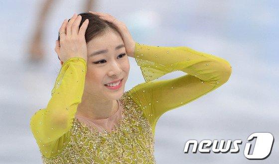[사진][소치2014]김연아 '완벽연기 점수는?'