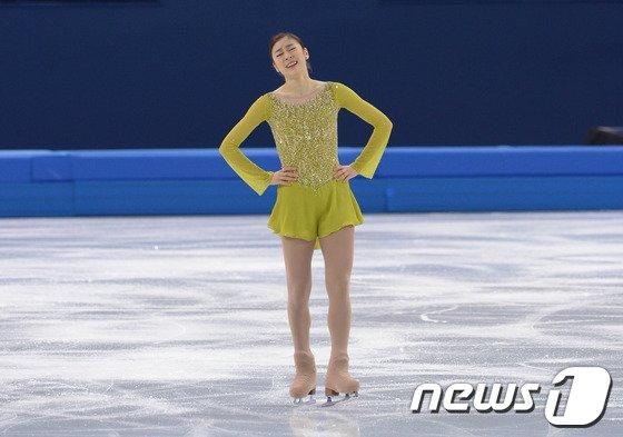 [사진][소치2014]클래스가 다른 연기 펼친 김연아