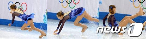 [사진][소치2014]율리아 '금메달이 멀어져 간다'