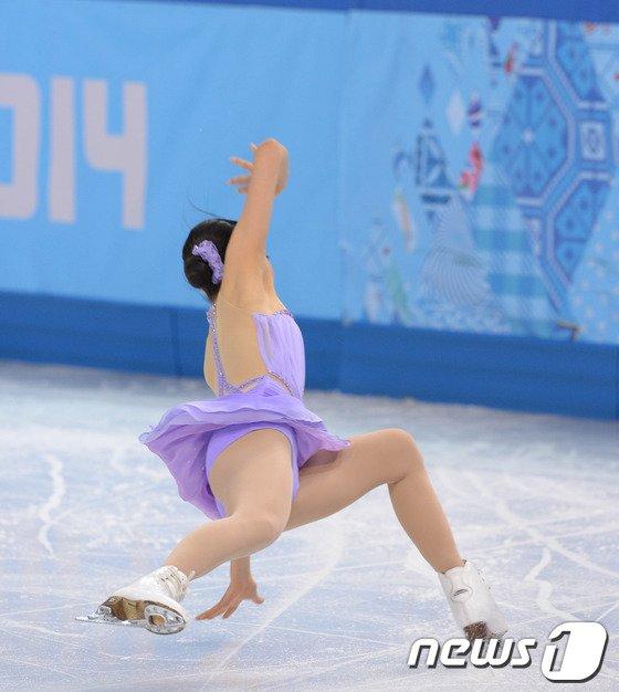 [사진][소치2014]아사다 마오 '메달이 멀어져 간다'