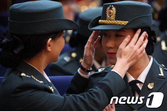 [사진]'멋진 여군이 되어서'