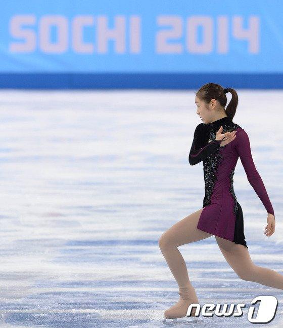 [사진][소치2014]인사하는 '피겨여왕' 김연아