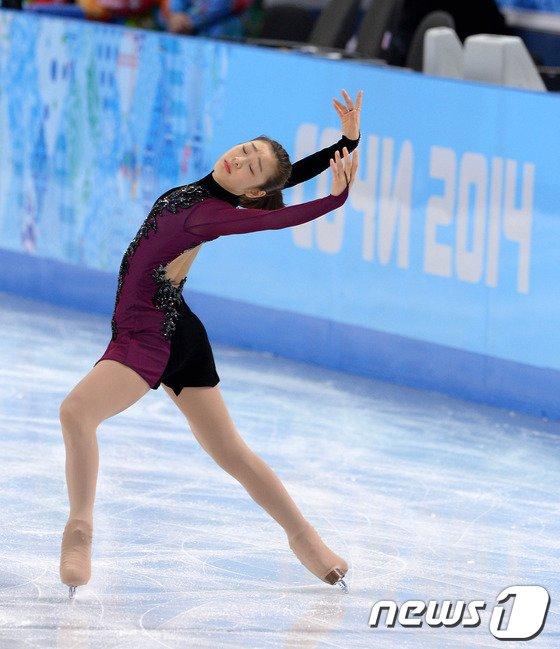 [사진][소치2014]수준이 다른 김연아의 연기