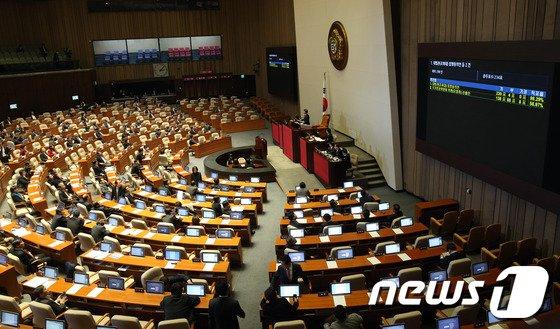 [사진]조희대 대법관 후보자 임명동의안 본회의 통과