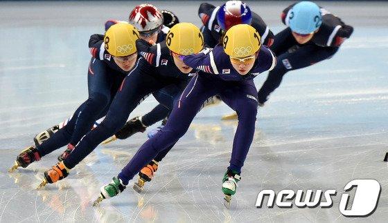 [사진][소치2014]'서로 경쟁'