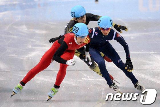 [사진][소치2014]박세영 반칙으로 준결승 좌절