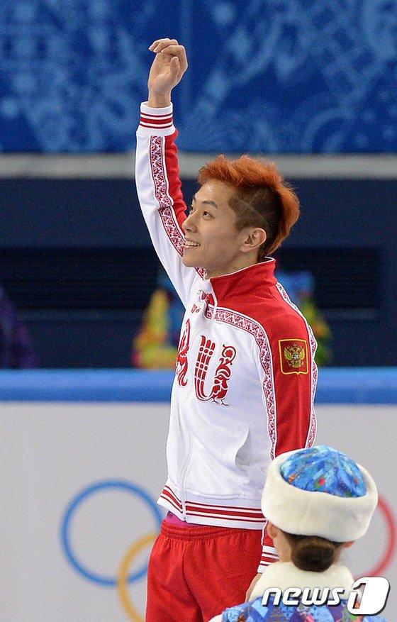 [사진][소치2014] 러시아에 금메달 3개 선사