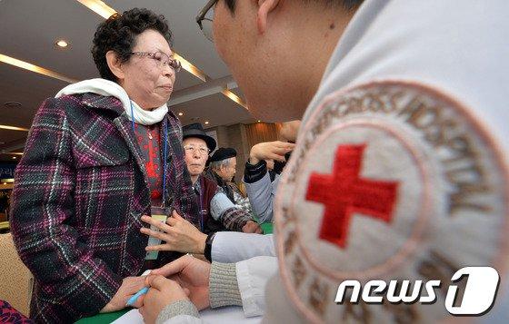 [사진]2차 이산가족 상봉단 건강검진