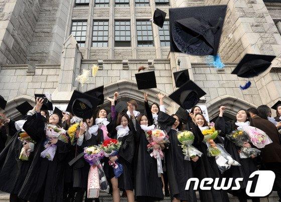 [사진]'축 졸업'