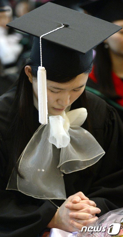 [사진]'졸업생의 기도'