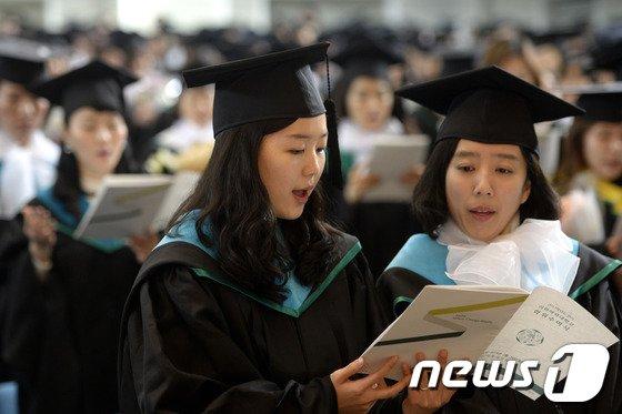 [사진]이화여대 2013학년도 학위수여식