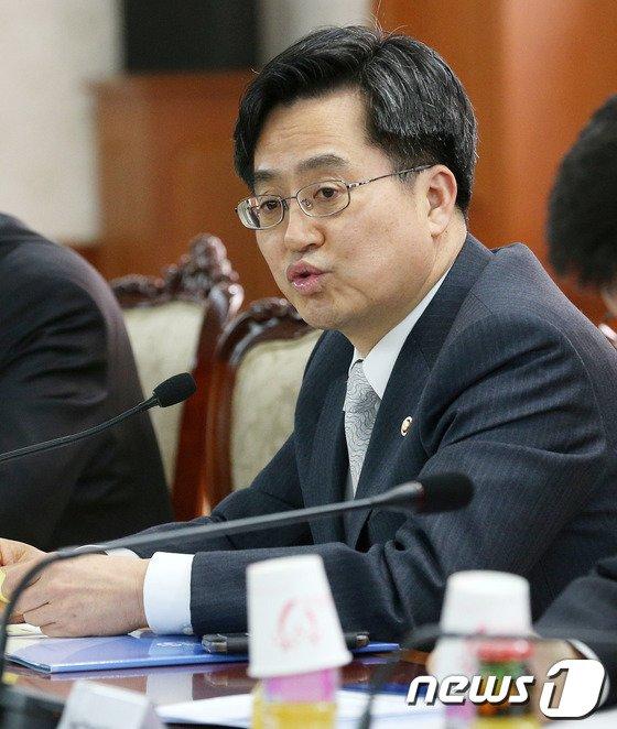 [사진]모두발언하는 김동연 국무조정실장