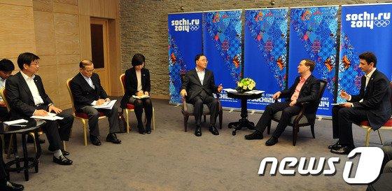 [사진]한-러 총리 회담