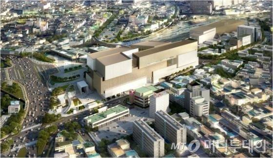 신세계 동대구복합환승센터 조감도 / 사진제공=신세계그룹