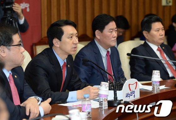 [사진]김기현, 원내대책회의 모두발언