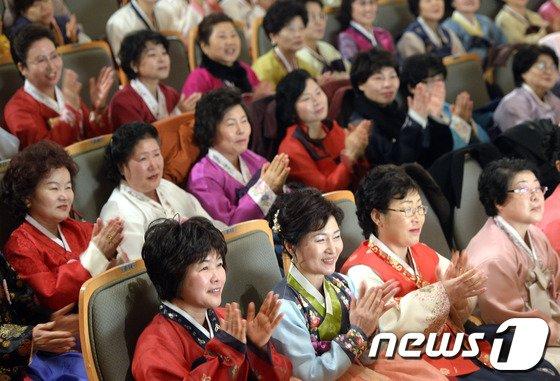 [사진]일성여자 중·고교 졸업식