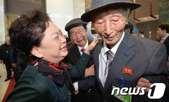 [사진]오열하는 이산가족