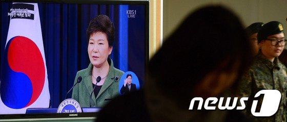 [사진]박근혜 대통령 취임 1주년 대국민담화