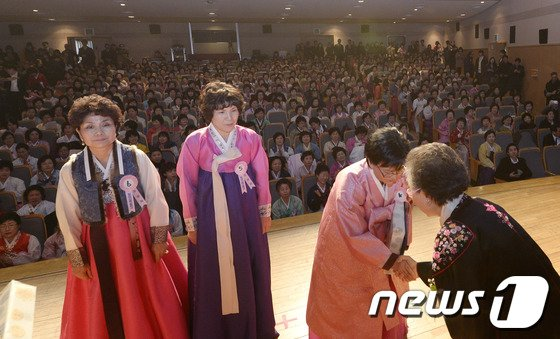 [사진]일성여자중고교 졸업식