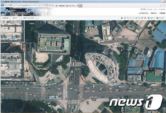 [사진]서울시 항공사진 '더 또렷하게'