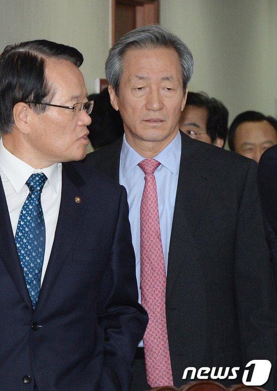 [사진]정몽준 '출마 결심'