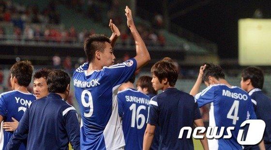 [사진]AFC 짜릿한 첫승 올린 울산 현대