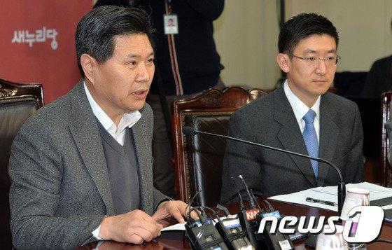 홍문종 새누리당 사무총장. 2014.3.3/뉴스1 © News1 박세연 기자