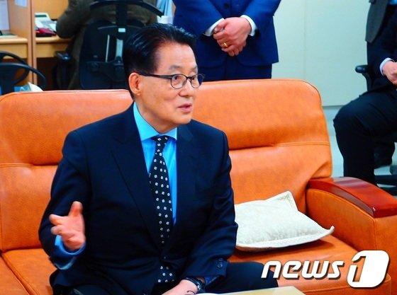 박지원 민주당 전 원내대표© News1 박준배 기자   박준배 기자