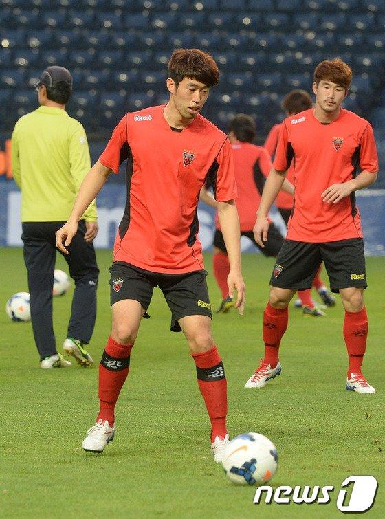 [사진]AFC 2차전 앞두고 훈련