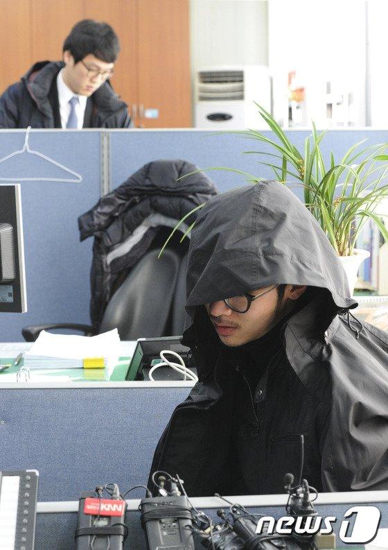 [사진]범행 하루만에 붙잡힌 현금수송차량 절도범