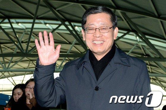 김황식 전 국무총리. 2014.2.11/뉴스1 © News1 정회성 기자