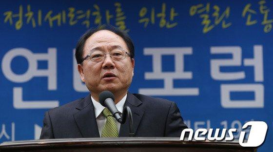 이용식 전 민주노총 사무총장. © News1 박정호 기자