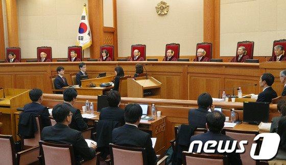 [사진]통합진보당 해산심판, '헌재의 결정은?'