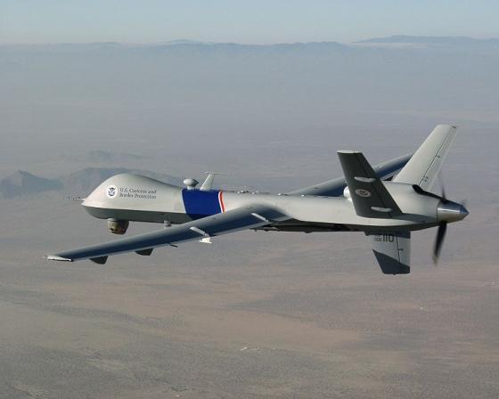 미국 군수용 대형급 무인항공기 MQ-9 리퍼 /사진출처=위키미디어
